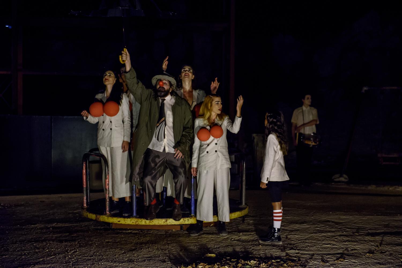 """Όλα όσα είδαμε στις """"ΒΑΚΧΕΣ"""" του Ευρυπίδη στο θέατρο Αυλιδείας ..."""