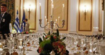 Δείπνο Προεδρικό Μέγαρο