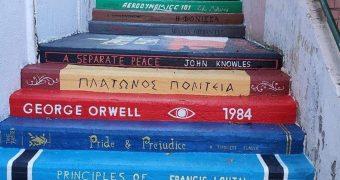 Σκαλιά βιβλία