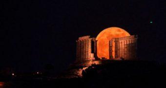 Υπερπανσέληνος Φεγγάρι της Φράουλας
