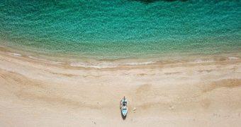 Ποτάμι παραλία Εύβοια