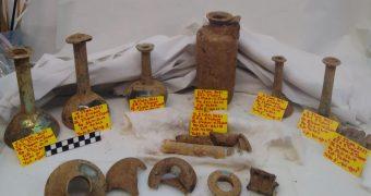 Νέα Στύρα αρχαιολογικά ευρήματα
