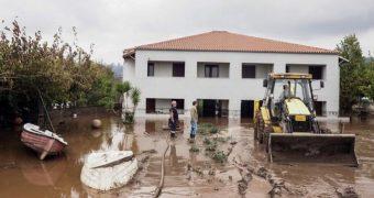 Πλημμύρες Β. Εύβοια