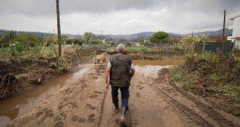 Βόρεια Εύβοια κακοκαιρία πλημμύρες